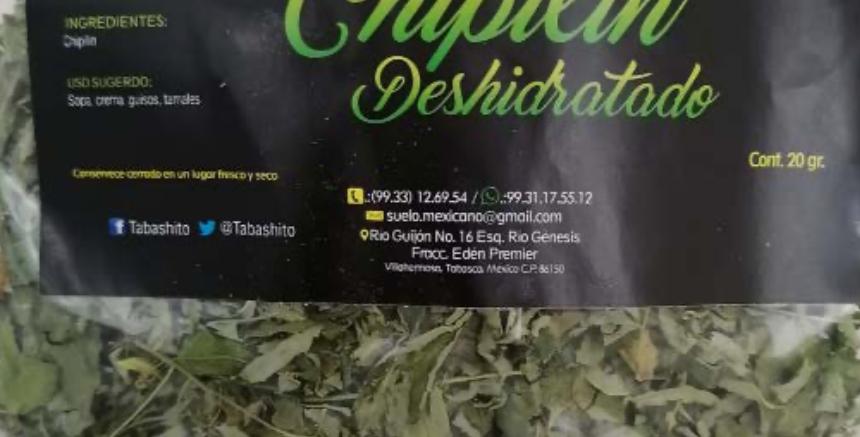 Chipilín Deshidratado