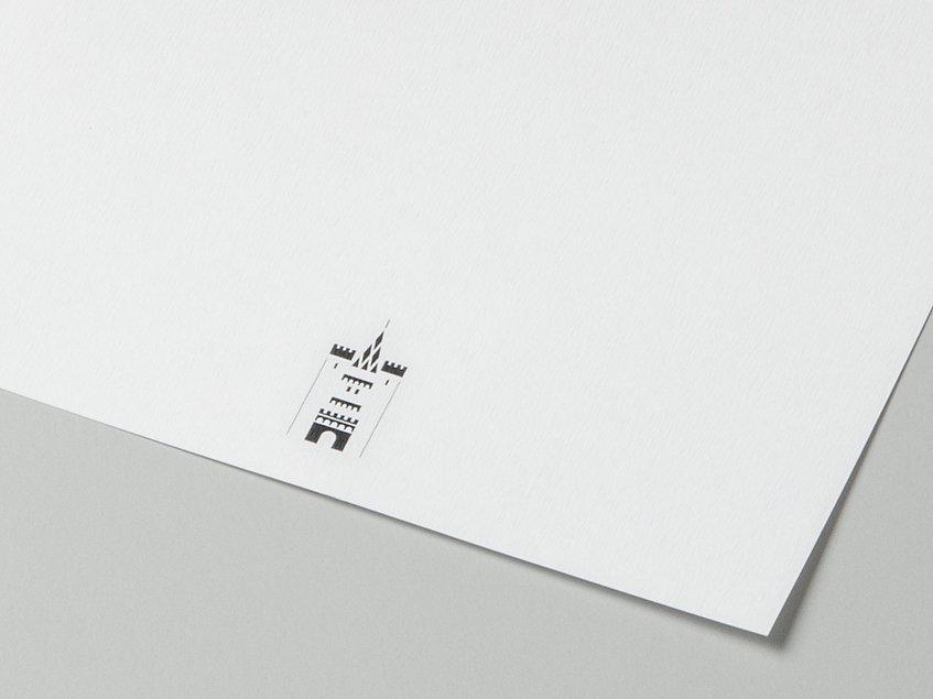Spalentor Detailansicht Breifpapier