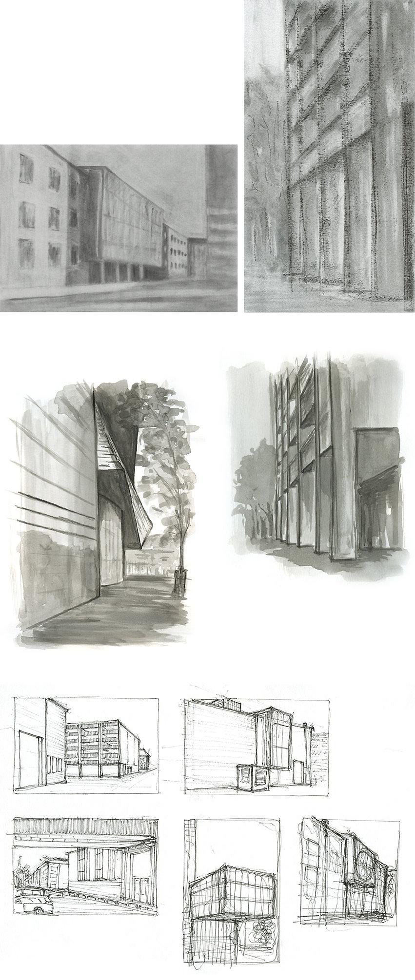 Architektonisches Zeichnen