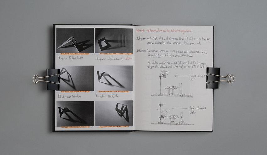 Arbeitsbuch Belichtungsstudie