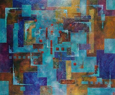 'Apex' an original abstract by Ben Fearnside