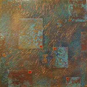 'Colony 2' an original abstract by Ben Fearnside