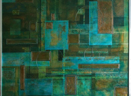 Making Abstract Art: the story of the blue square