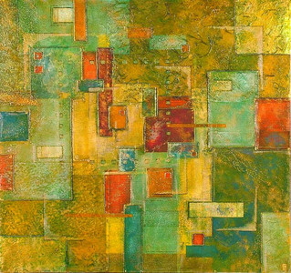 'Age' an original abstract by Ben Fearnside