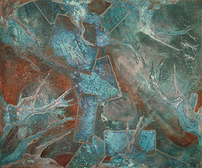 'Trinity' an original abstract by Ben Fearnside