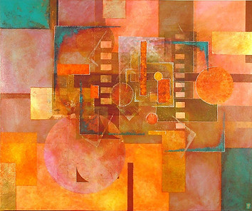 'Atonement' an original abstract by Ben Fearnside