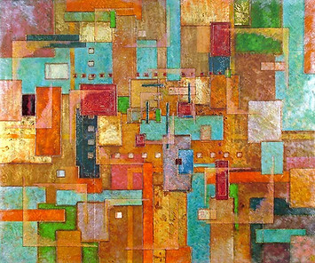 'Impact' an original abstract by Ben Fearnside