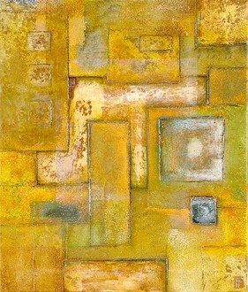 'Withheld' an original abstract by Ben Fearnside