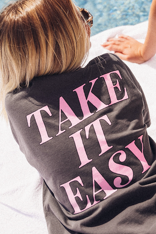"""Take It Easy"" Graphic Tee"