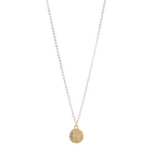 "B.B Lila ""Ceasar"" Coin Necklace"