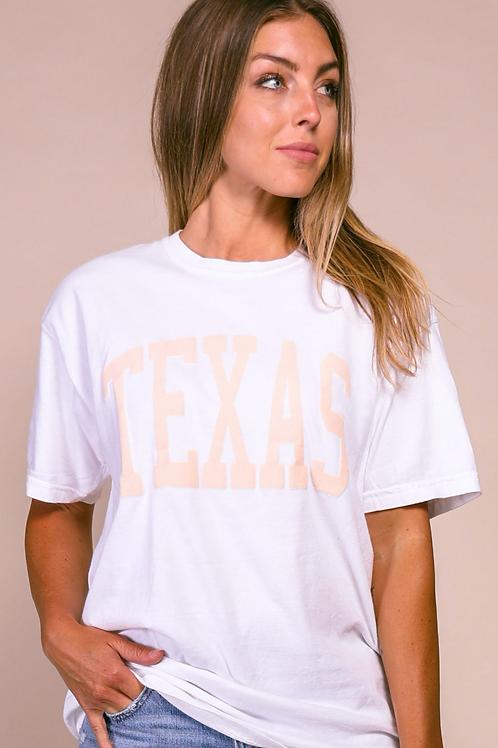 """Blush Texas"" Graphic Tee"