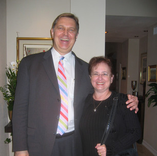Scott McBride Smith (Faculty, U of Kansas, President MTNA) & Bonnie