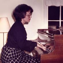 Bonnie in Recital, 1980