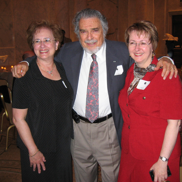 Bonnie, Leon Fleisher, Sheila Vail (director, Indian Springs Academy of Music)