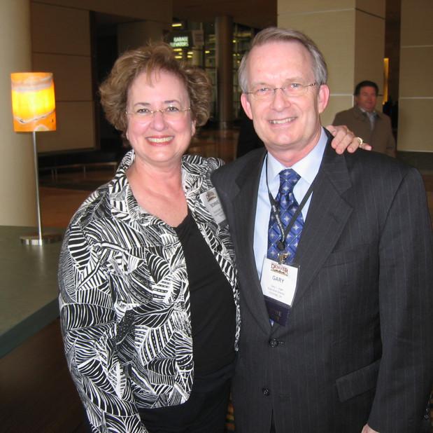 Bonnie and Gary Ingle, MTNA CEO