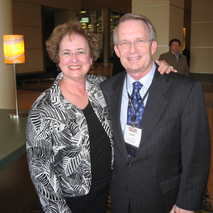 Bonnie and Gary Ingle, MTNA CEO