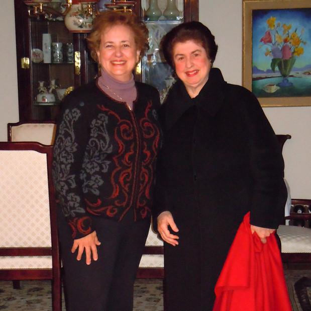 Bonnie & Ann Schein (Concert Pianist)