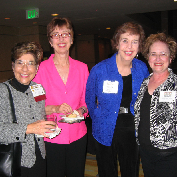 Gail Berenson, Past President, MTNA and colleague; Nelita True, Concert Pianist and Faculty, Eastman School of Music; Bonnie