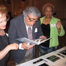 Bonnie, Leon Fleisher, Mellasenah Morris, Dean of Peabody Conservatory