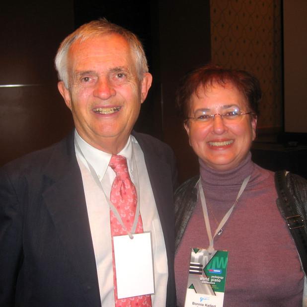 Stewart Gordon (Former Faculty U of MD, Concert Pianist) & Bonnie
