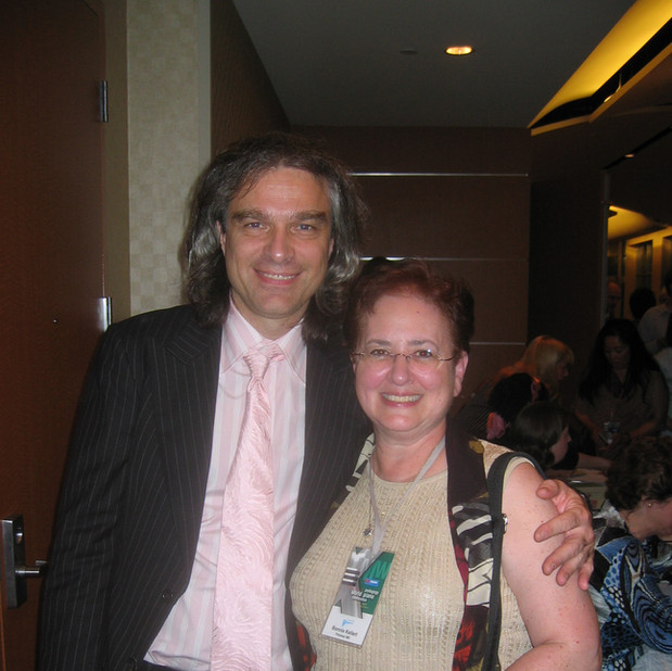 Benjamin Saver (Founder, World Piano Pedagogy Conference) & Bonnie