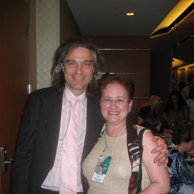 Benjamin Saver (Founder, World Piano Pedagogy Conference) & Bonnie
