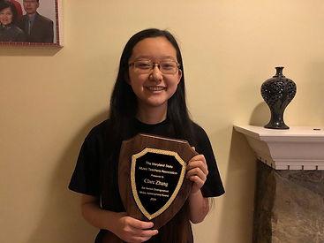 Clare Zhang and Her Awarda.jpg