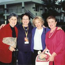 Suzanne Guy (Pedagogue), Bonnie, Myrna Lyons (independent Teacher), Ann Schein (Concert Pianist)