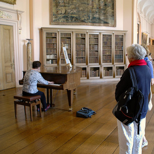 Bonnie Playing Bosendorfer in Castle Howard, England