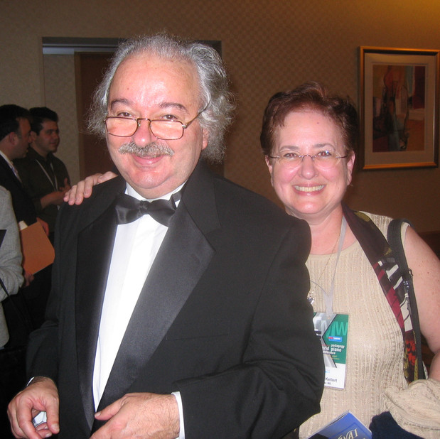 Luis de Moura Castro (Faculty, Hartt School of Music) & Bonnie