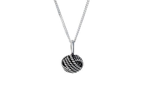 """Patina Knot"" Necklace"