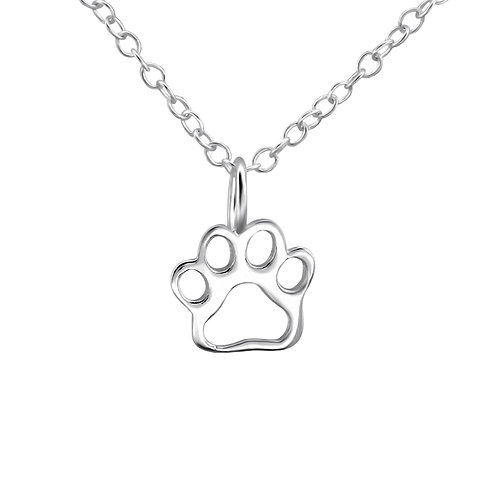 """""""Paw Print"""" Necklace"""