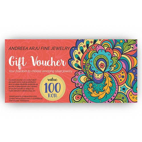 Gift Voucher- Design 1