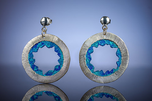 """Around the World"" Earrings"
