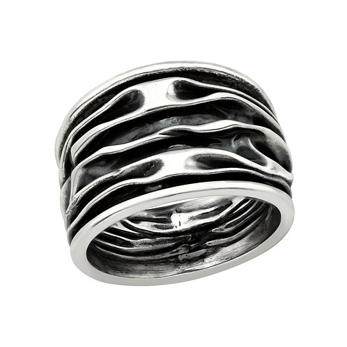 """Waves"" Ring"