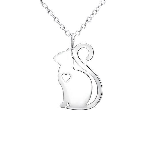 """Loving Cat"" Necklace"