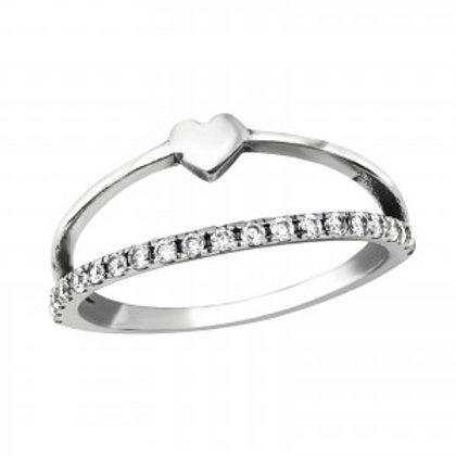 """Sparkling Love"" Ring"
