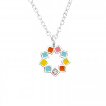 """Colors of the Heart"" Necklace"
