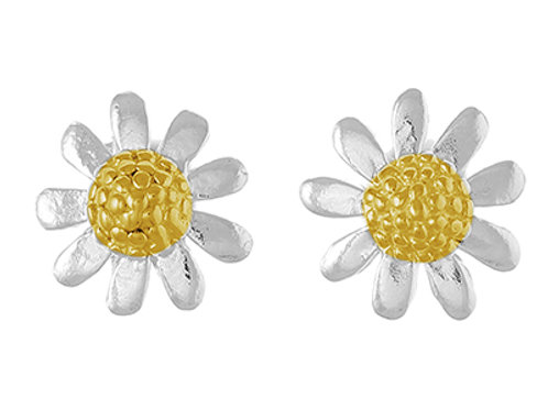"""Chamomile Flowers"" Ear Studs"
