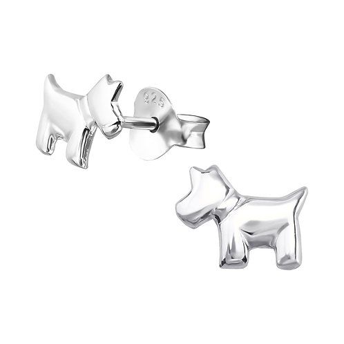 """Puppies"" Ear Studs"
