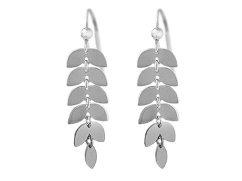 """Rowan Leaves"" Earrings"