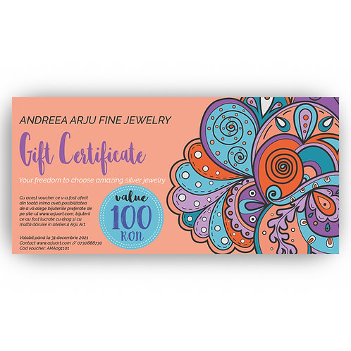 Gift Voucher- Design 4