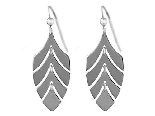 """Monstera Amazing Leaf"" Earrings"