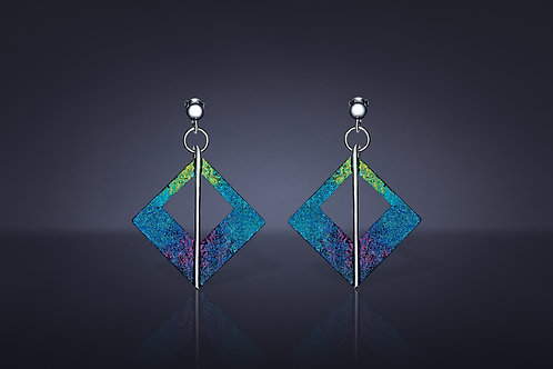 """Sky & Earth as One"" Earrings"