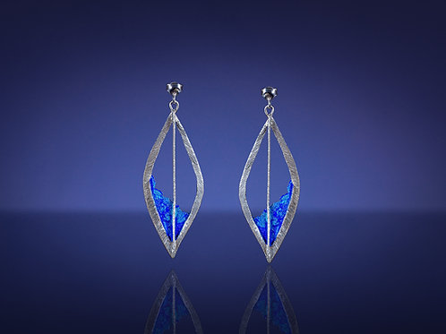 """Shades of Blue"" Earrings"