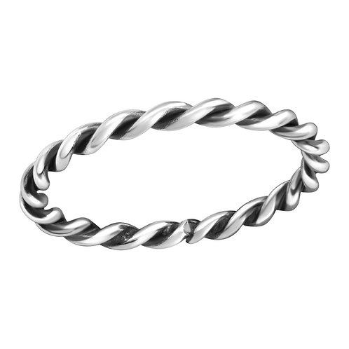 """Rope"" Ring"
