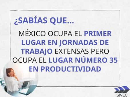 ¿Qué tan productivos somos en México?