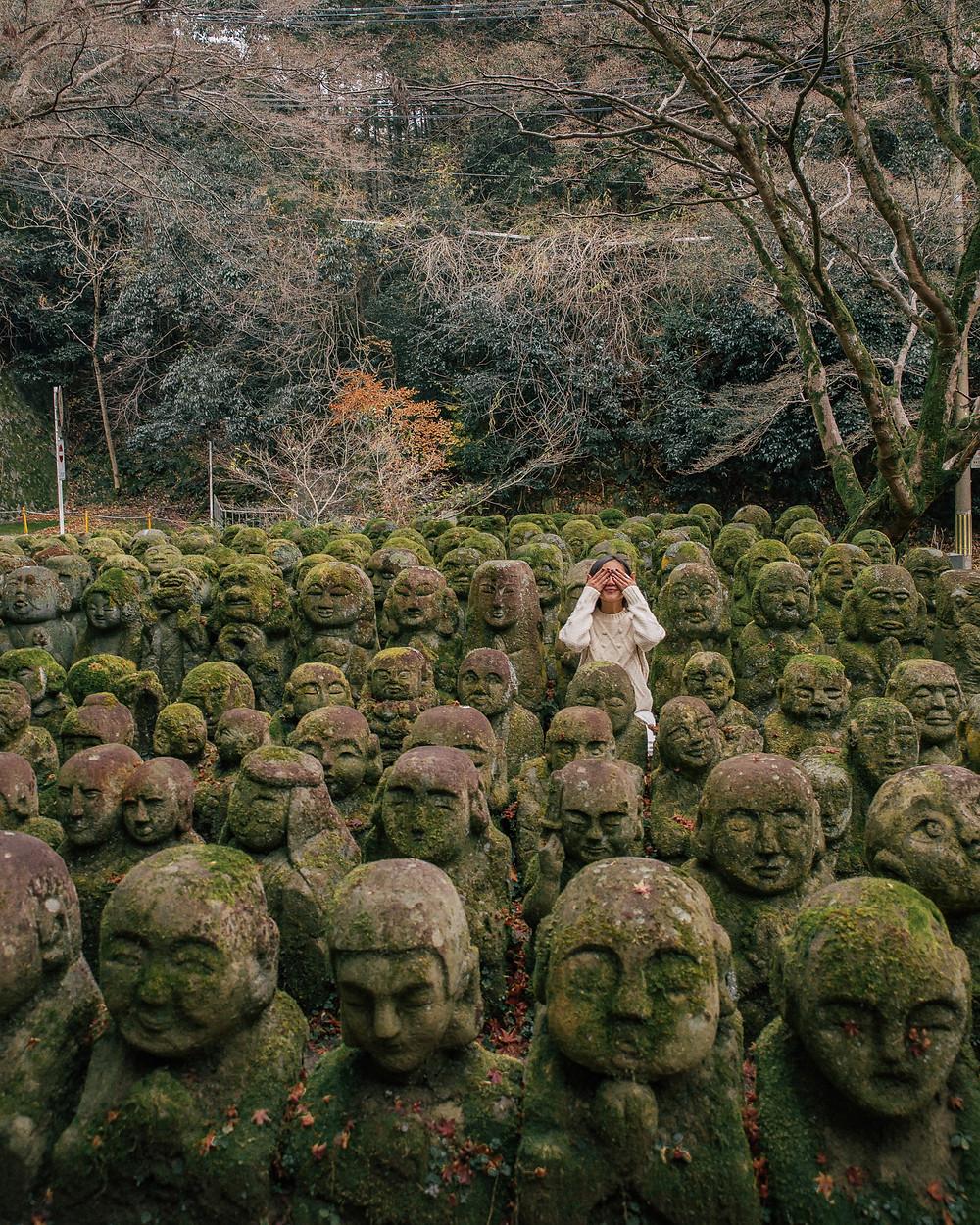 Otagi Nenbutsu-ji, Kyoto, Japan