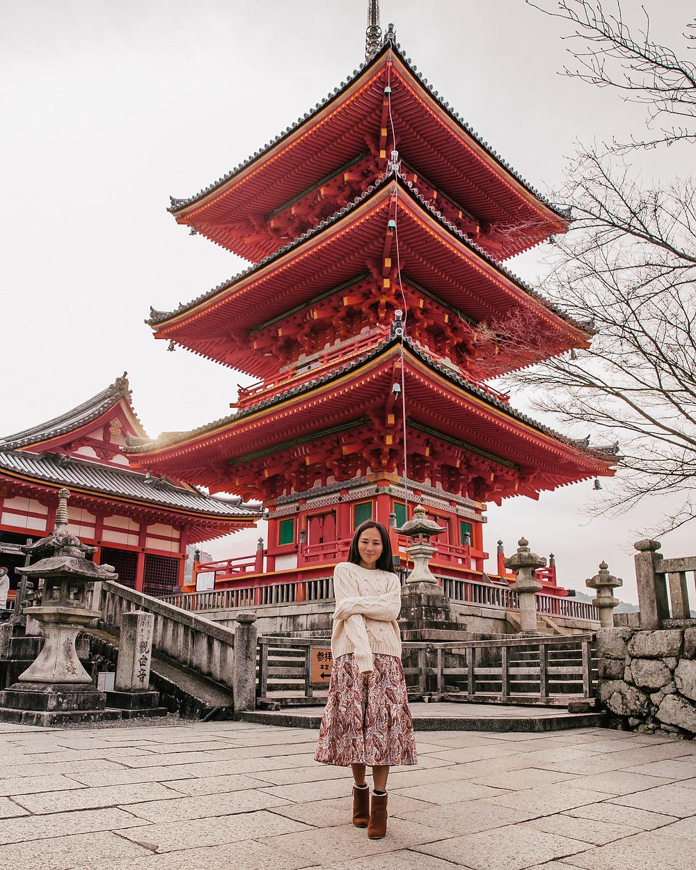 Kiyomizu Temple, Higashiyama, Kyoto