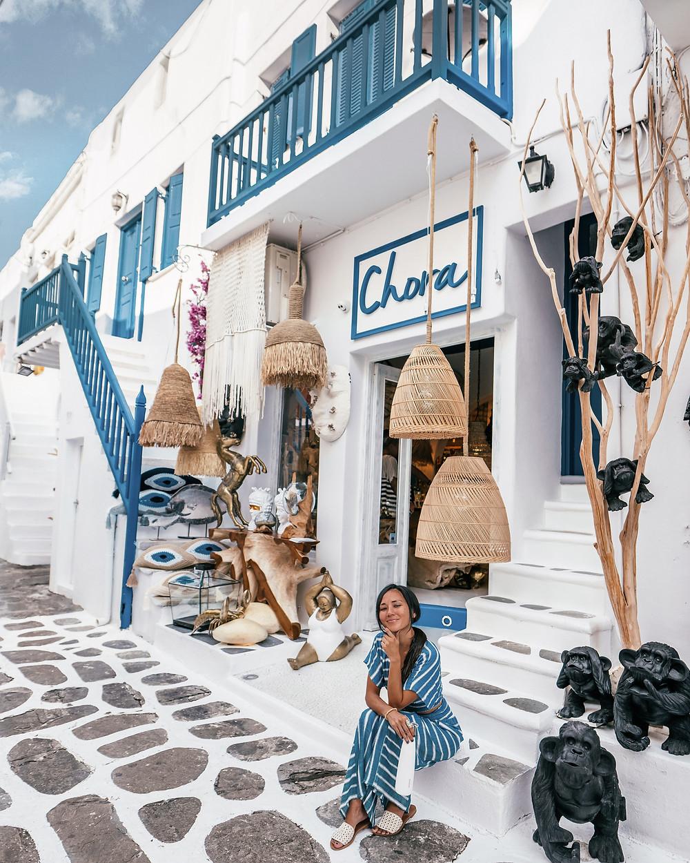 Chora, Little Venice, Mykonos, Greece